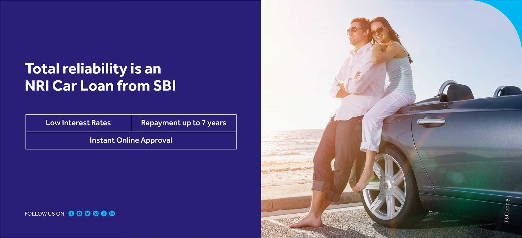 Total reliability is an NRI car loan from sbi
